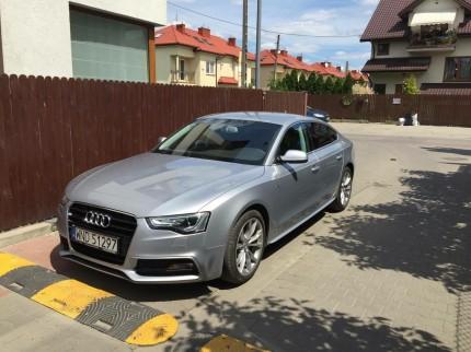 Wynajem samochodów osobowych Warszawa - sylwetka Audi A5