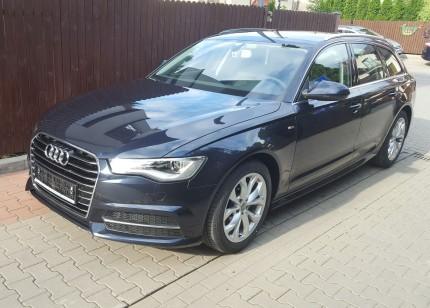 Wynajem samochodów osobowych Warszawa - Audi A6 S-line