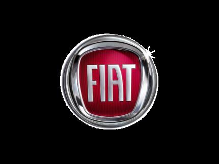 Krótko i długoterminowy wynajem samochodów dostawczych Warszawa - logo marki FIAT